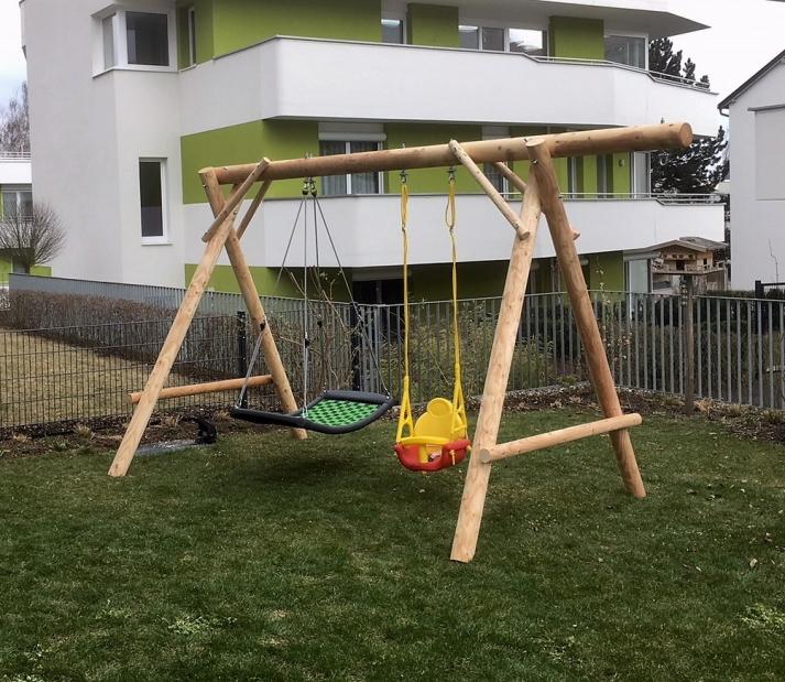 Schaukel Ennstaler Rundholz